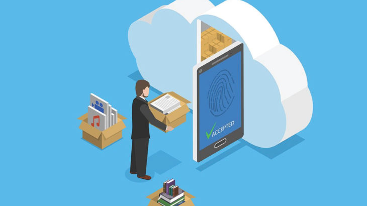 cloud and mobile devices