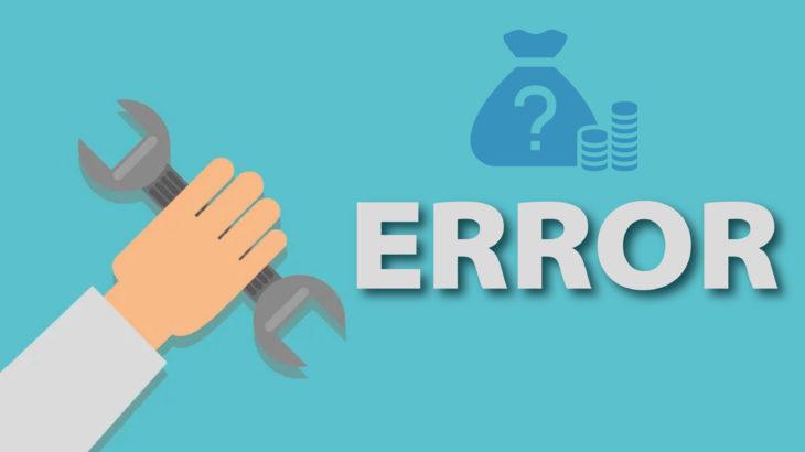 common budgeting errors