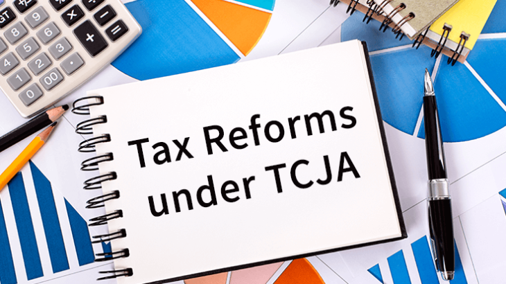 the TCJA – Tax Cuts and Jobs Act.